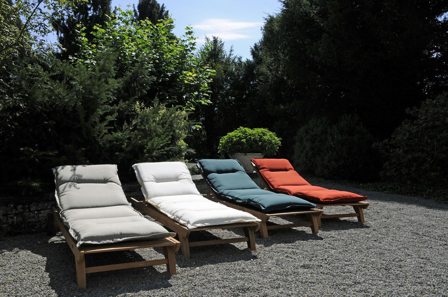 polster auflage f r deckchair liege. Black Bedroom Furniture Sets. Home Design Ideas