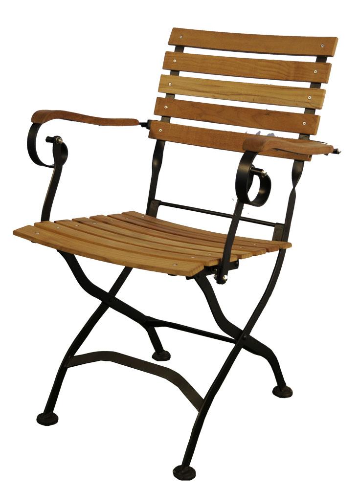 classic garden stuhl mit al teak. Black Bedroom Furniture Sets. Home Design Ideas