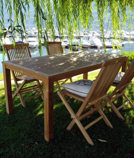 Gartenmoebel set teakholz cornwall for Gartenmobel teakholz set