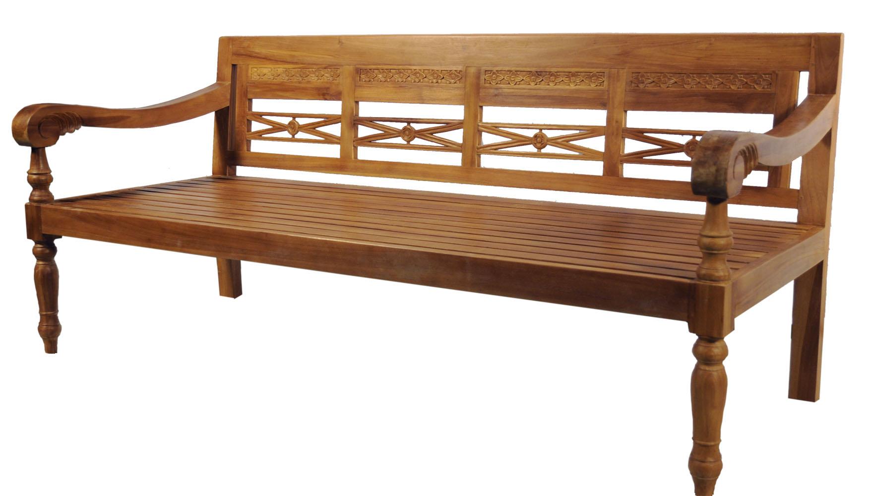 daybed teak bank. Black Bedroom Furniture Sets. Home Design Ideas