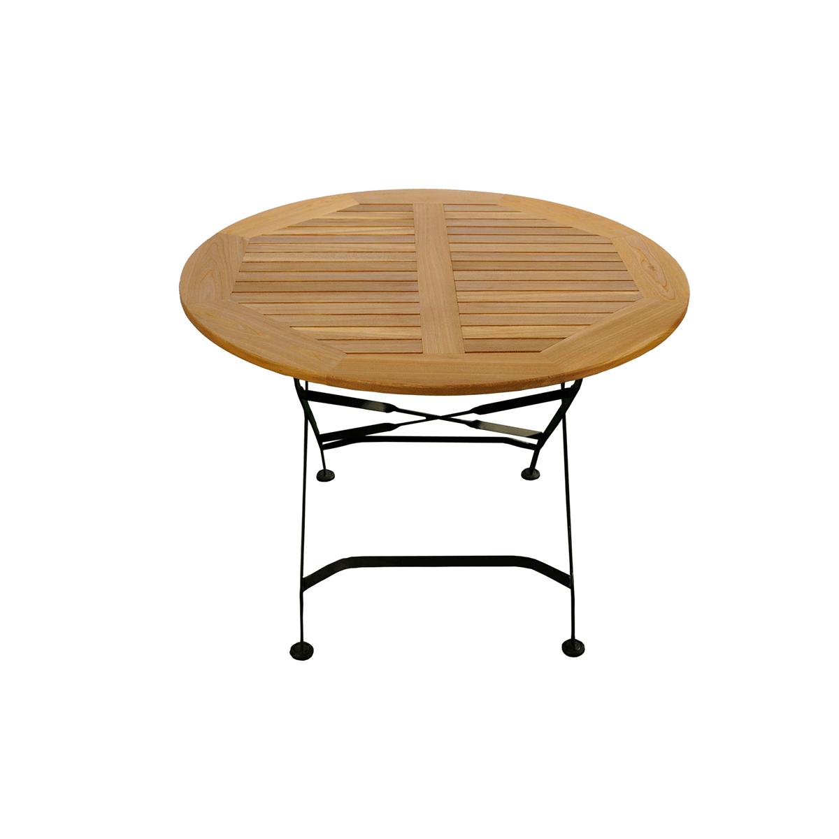 classic gartentisch rund. Black Bedroom Furniture Sets. Home Design Ideas