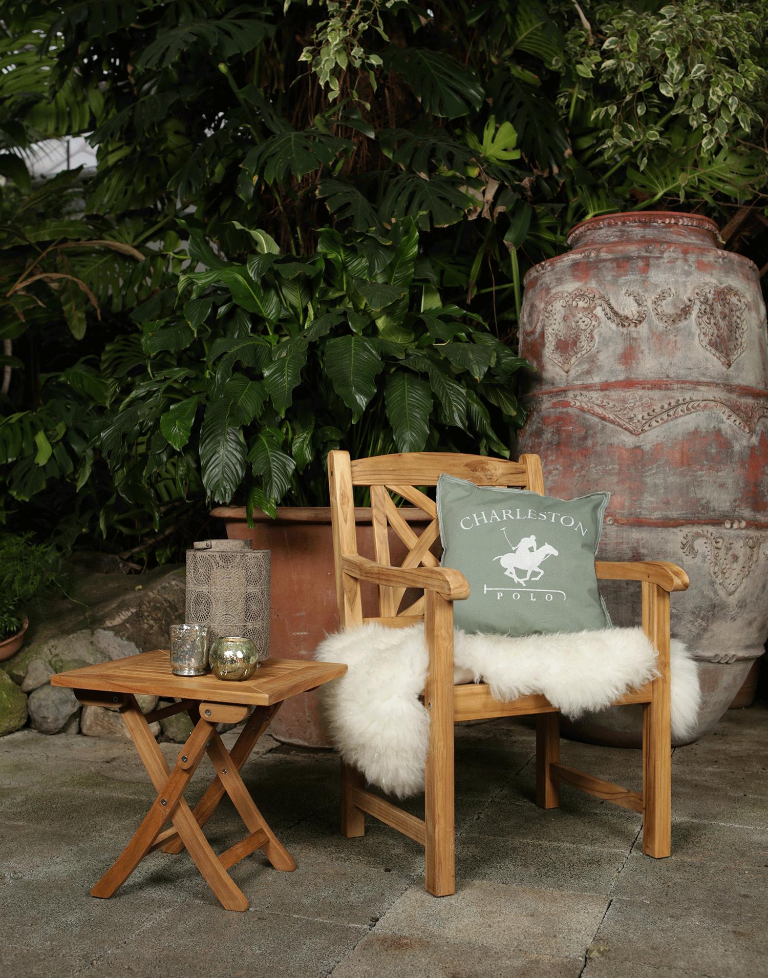 teakholz sessel ascot. Black Bedroom Furniture Sets. Home Design Ideas