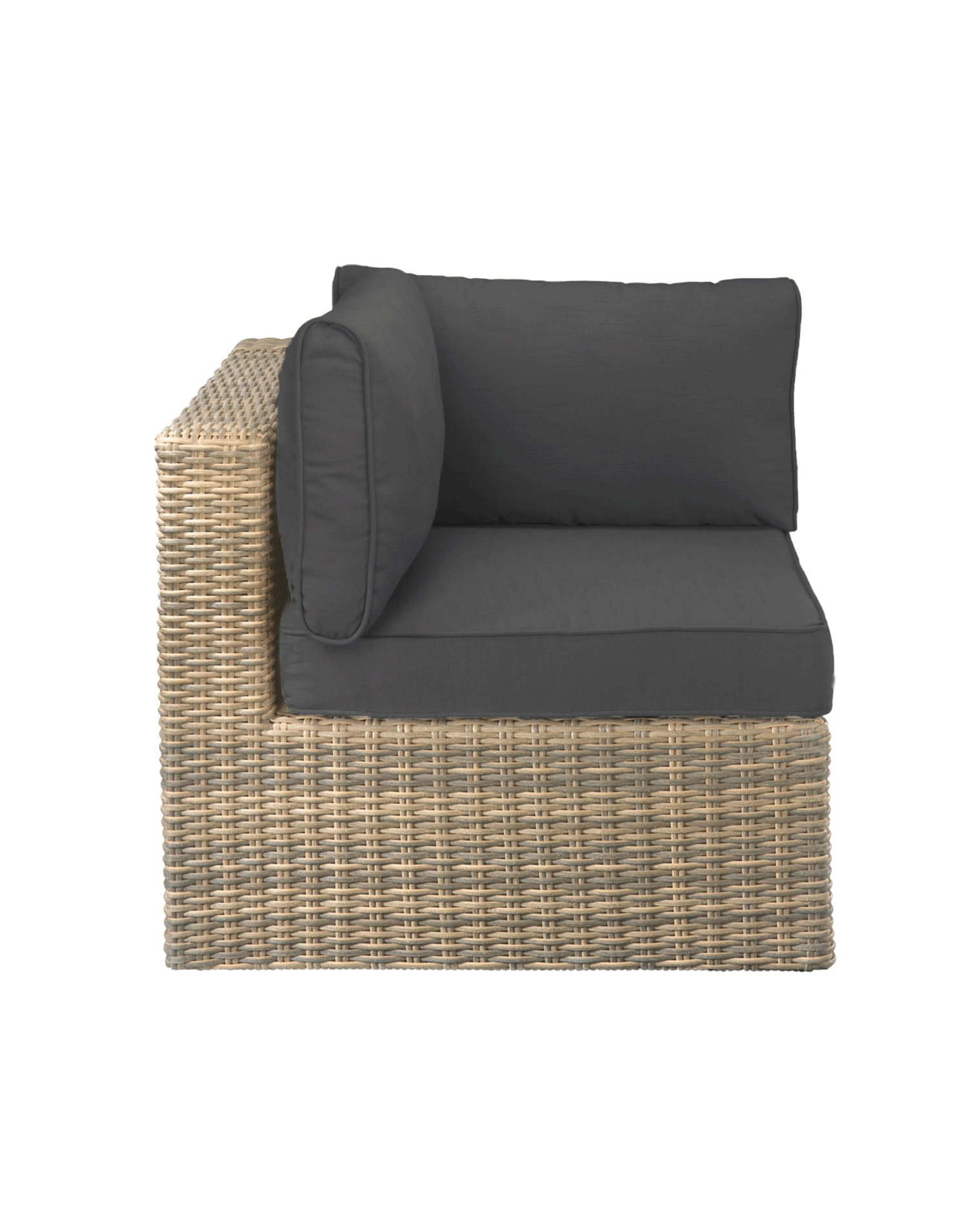 Balkonmobel Rattan Sofa : Element Wählen Sie eine Option EckElement MittelElement Sessel