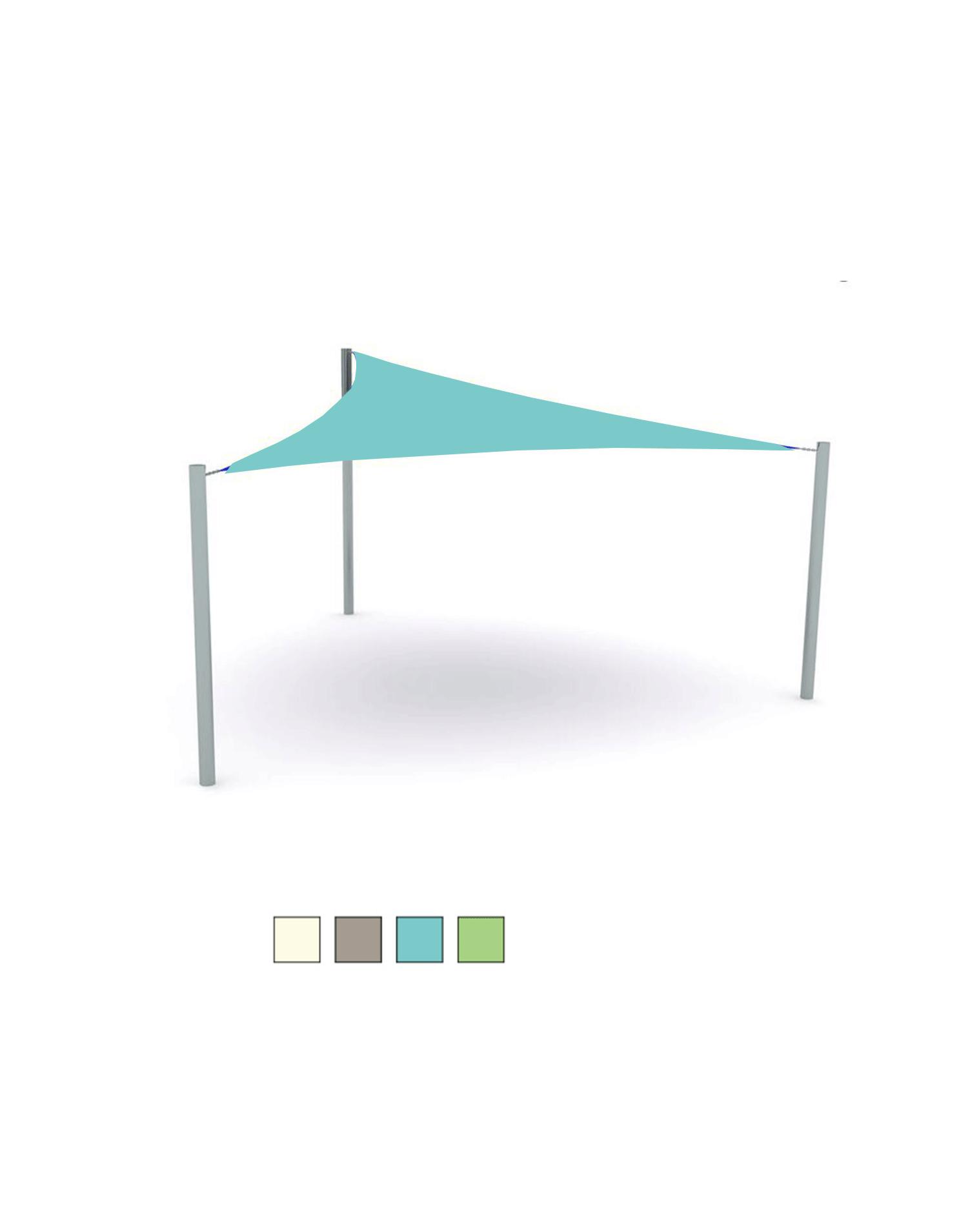sonnensegel dreieckig blau. Black Bedroom Furniture Sets. Home Design Ideas