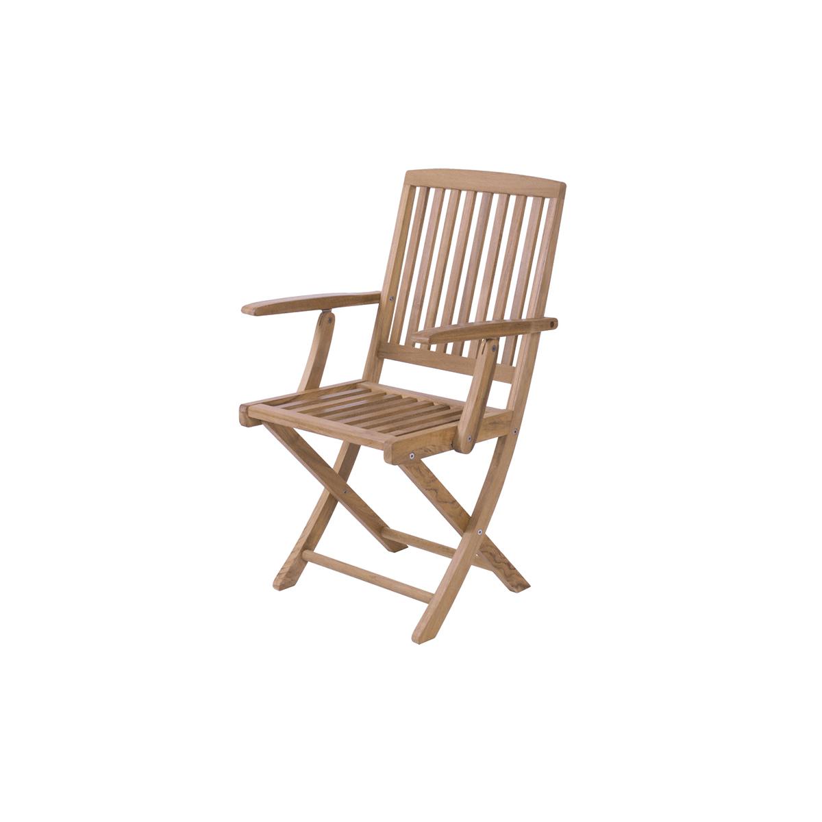 teakholz klappstuhl sunny. Black Bedroom Furniture Sets. Home Design Ideas