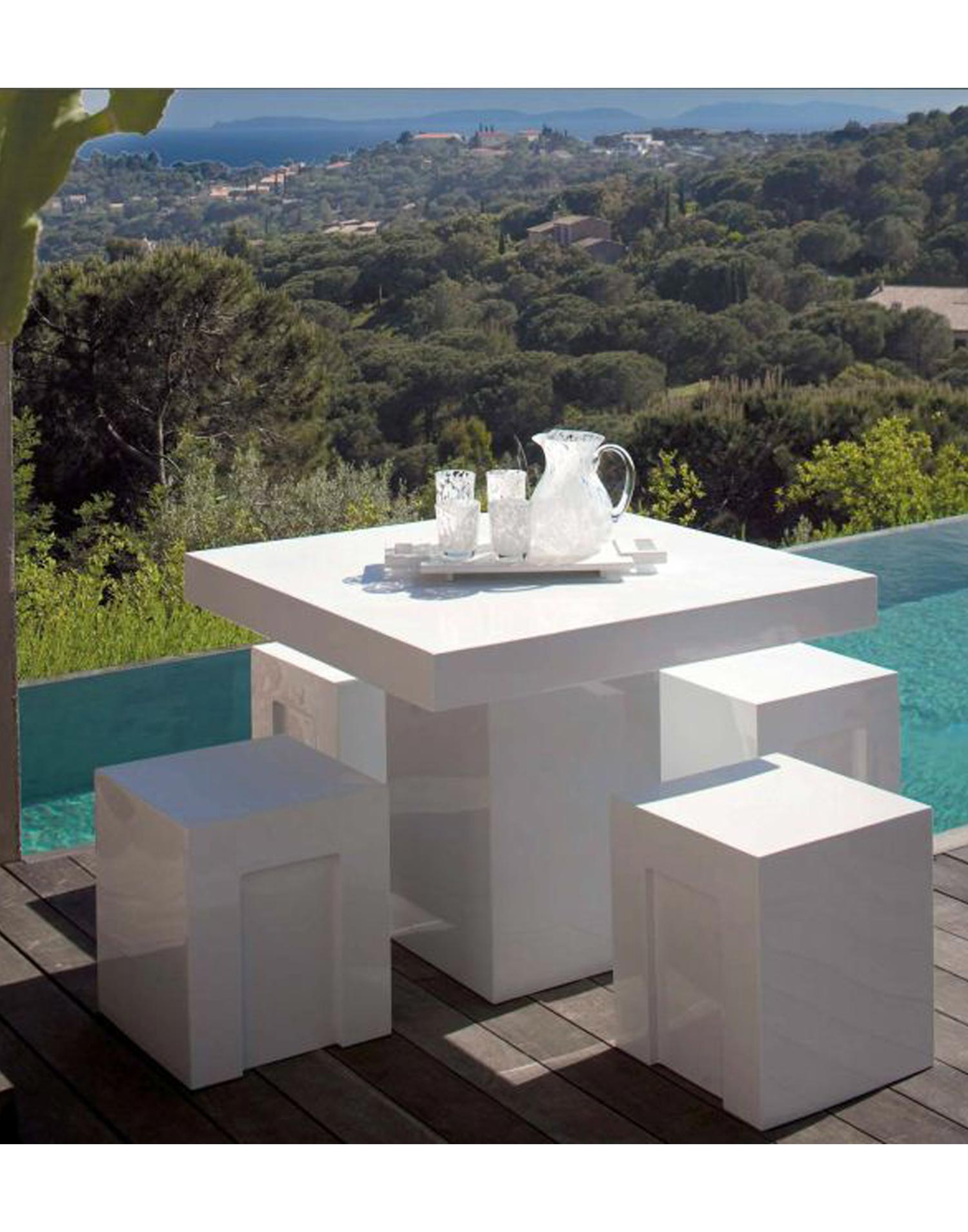 Hofer Prospekt Gartenmobel : Gartenmoebel Set Stone Fiber  teaklandch