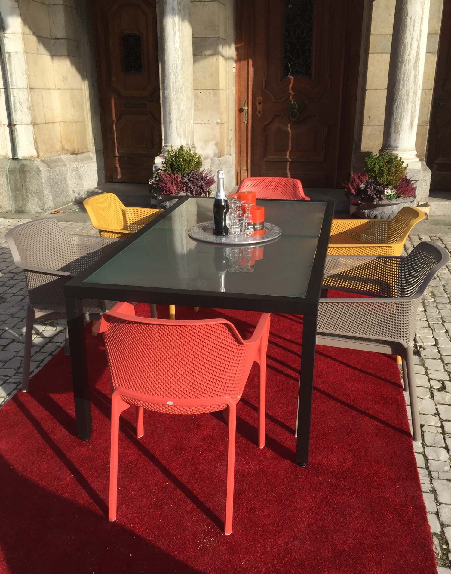 sunzone gartenmoebel set 9. Black Bedroom Furniture Sets. Home Design Ideas