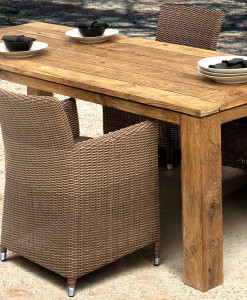 Teakholz Gartentisch Captains Table Teakland Ch