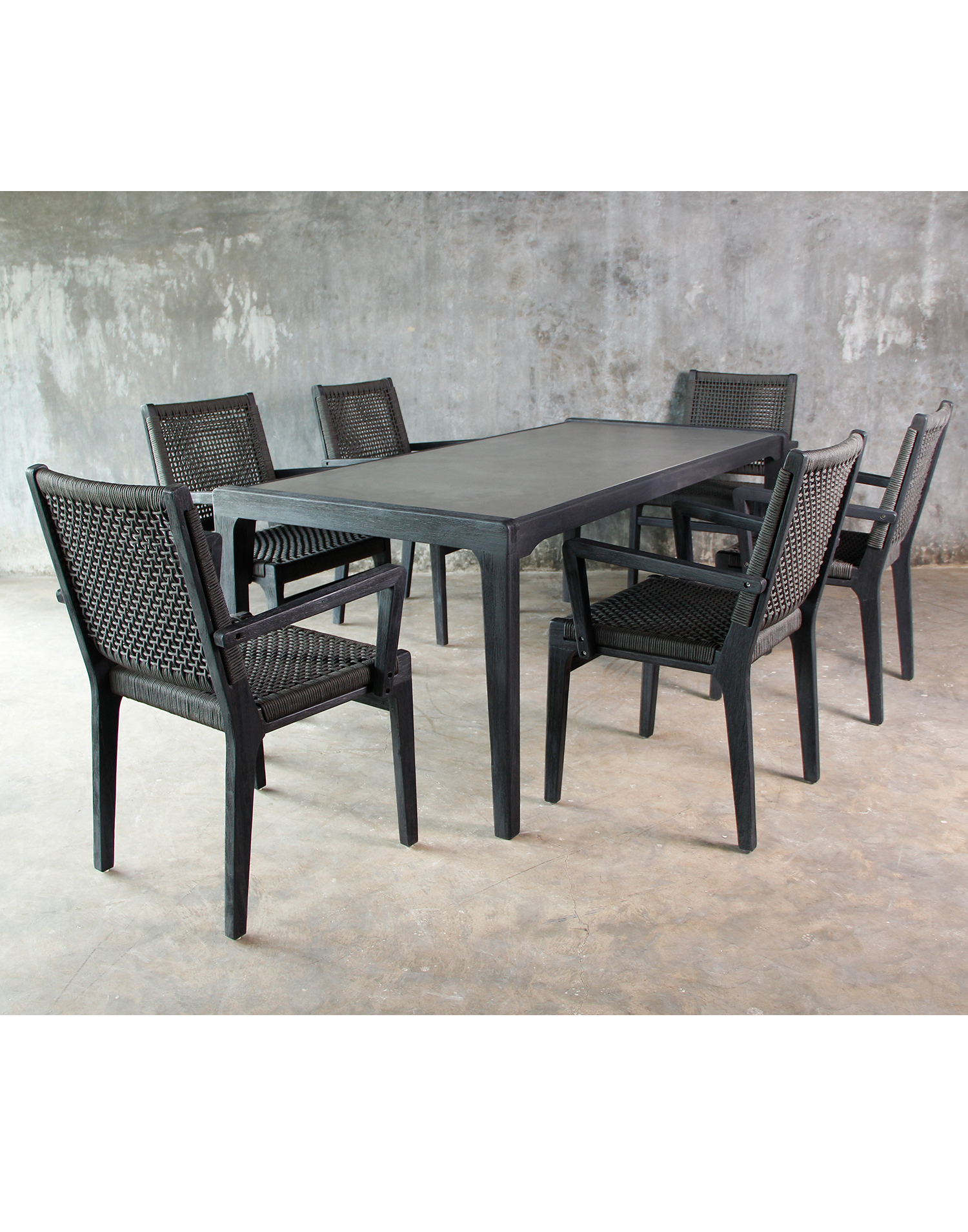 gartenm bel set rivera dining set. Black Bedroom Furniture Sets. Home Design Ideas