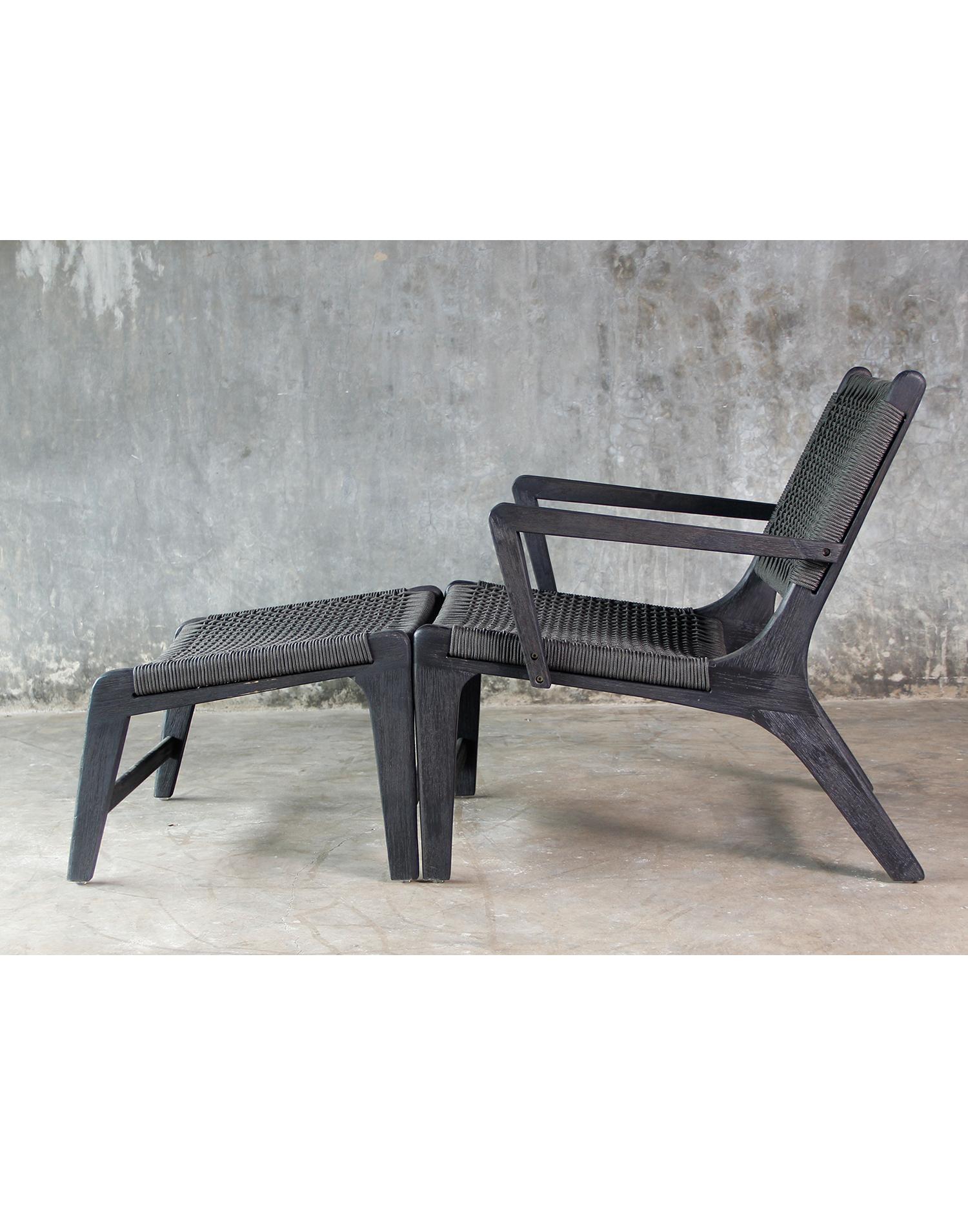 lounge sessel rivera mit fussteil. Black Bedroom Furniture Sets. Home Design Ideas