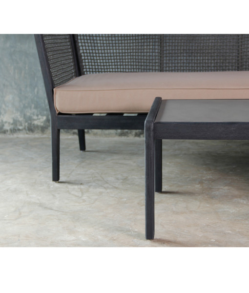 holz lounge set rivera gartenlounge. Black Bedroom Furniture Sets. Home Design Ideas