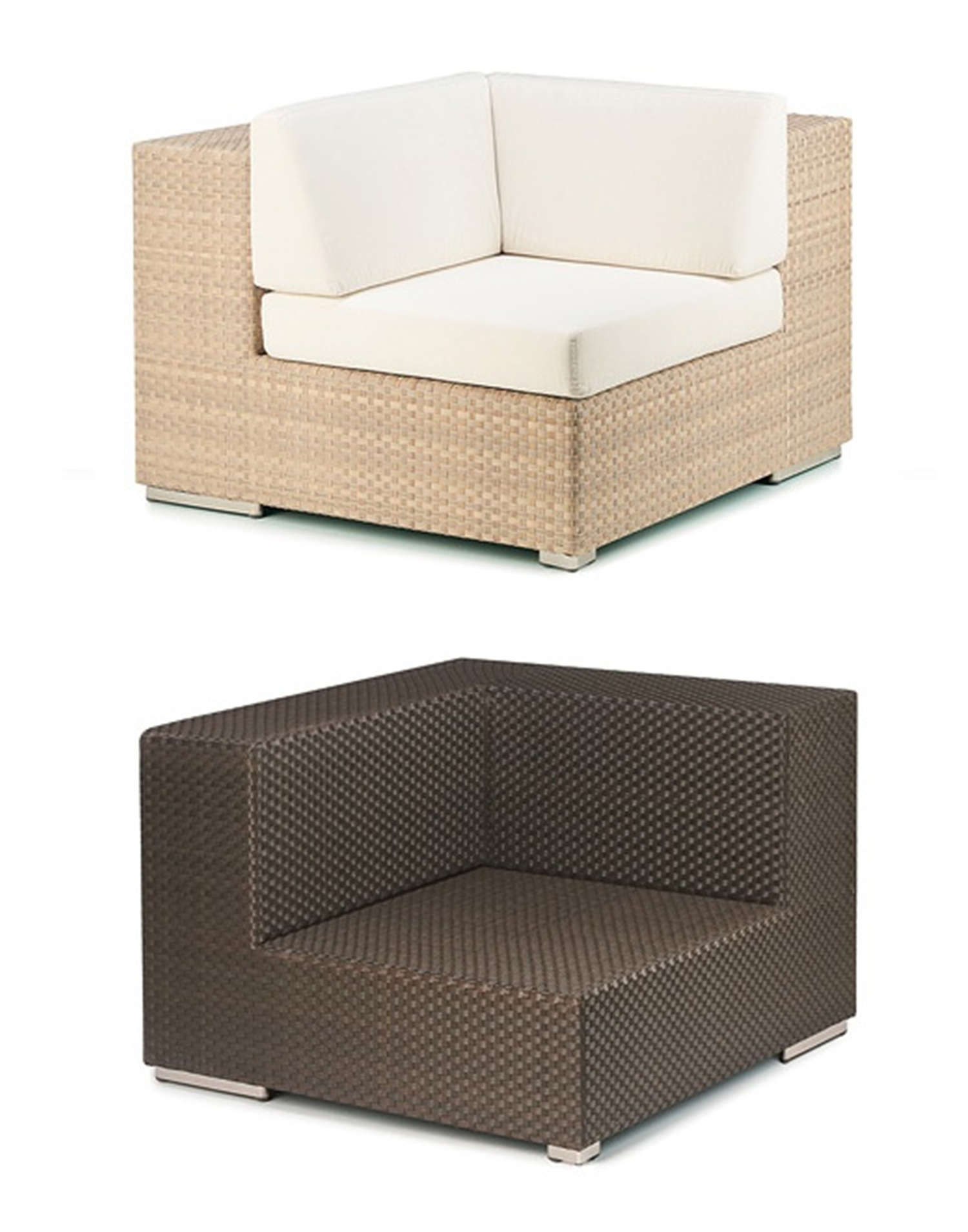 rattan lounge elemente g nstig. Black Bedroom Furniture Sets. Home Design Ideas