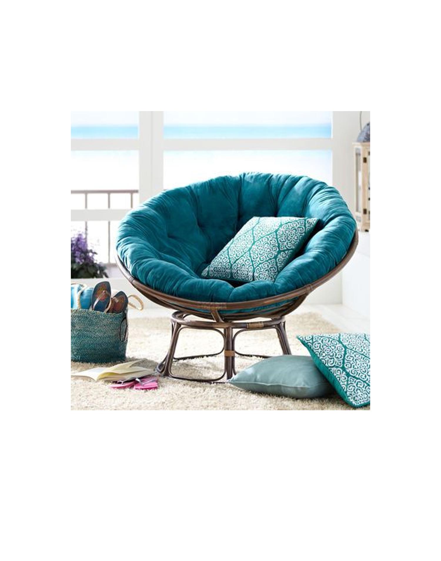 rattan papasan sessel round 4. Black Bedroom Furniture Sets. Home Design Ideas