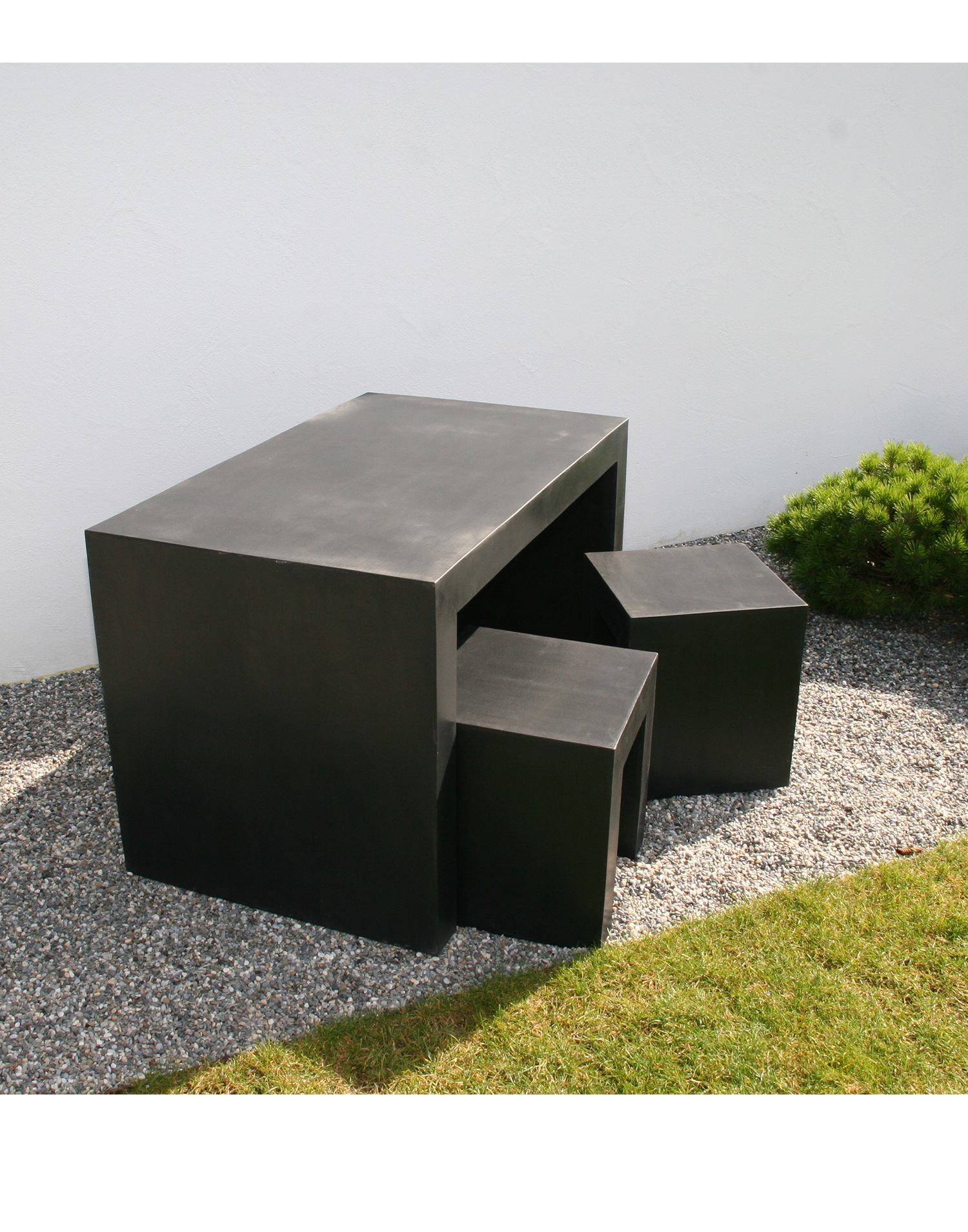 stonefiber set 5teiliges gartenm bel set. Black Bedroom Furniture Sets. Home Design Ideas