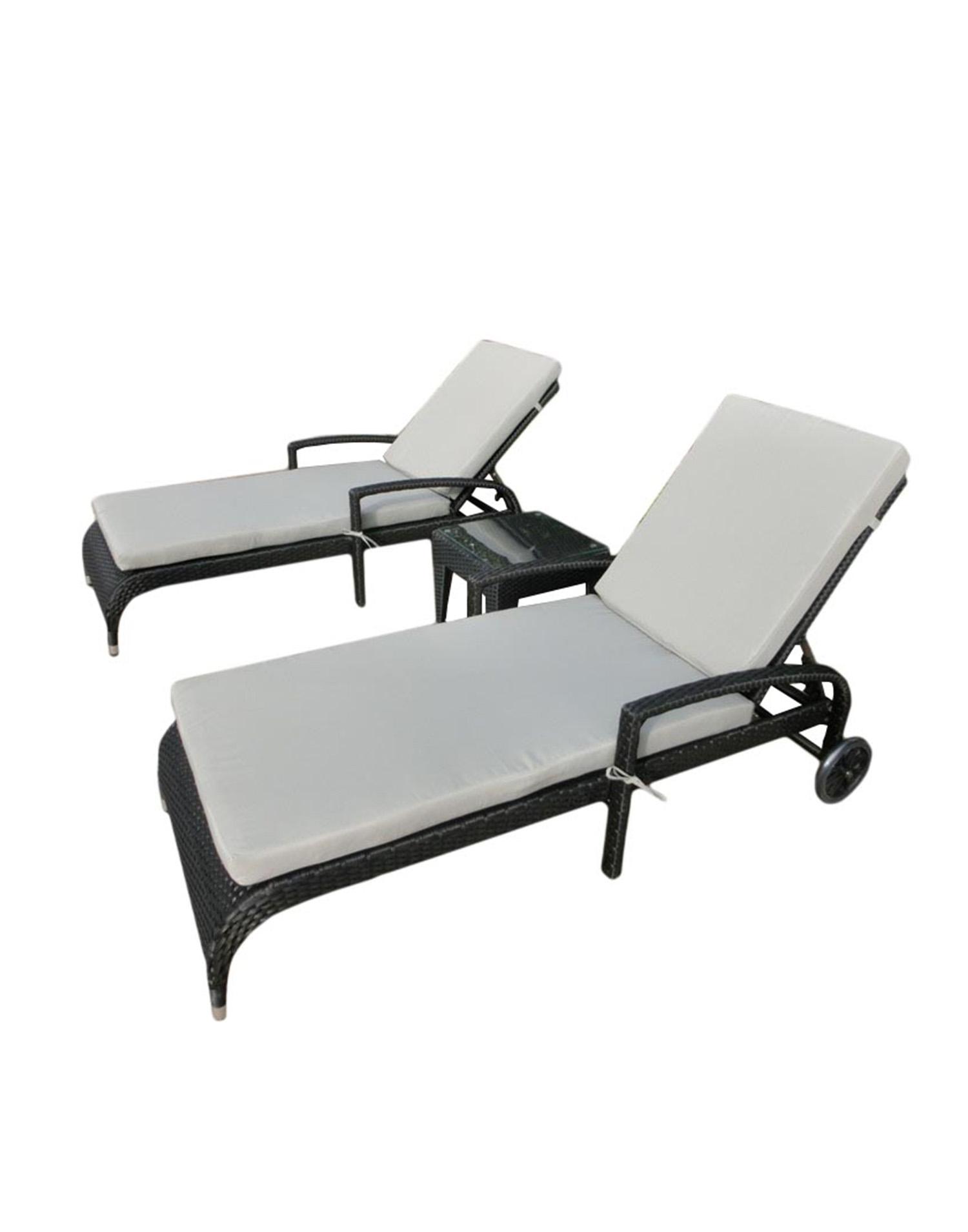 rattanliege la jolla. Black Bedroom Furniture Sets. Home Design Ideas